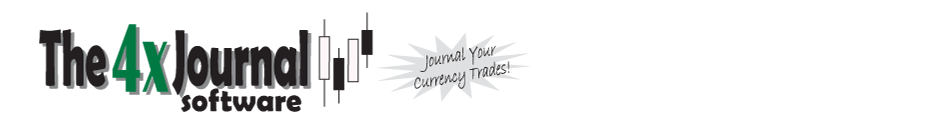 Forex Journal Software – The4xJournal is Forex Trading Journal Software and Database to Journal Your Forex Trades – Trade Journal Diary